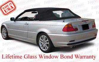 Convertible Tops & Accessories:2000 thru 2006 BMW 323ci, 325ci, 330ci & M3 (E46 Body)