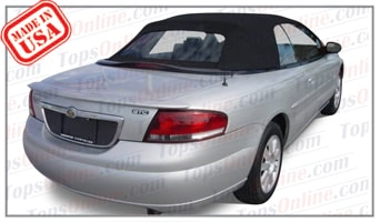 Convertible Tops & Accessories:2001 thru 2006 Chrysler Sebring GTC, JR, LX, LXI & Limited
