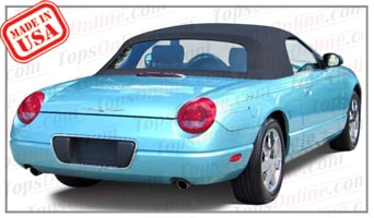 Convertible Tops & Accessories:2001 thru 2005 Ford Thunderbird & T-Bird