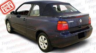 Convertible Top Installation Videos:2001 and 2002 Volkswagen Cabrio & Golf 3