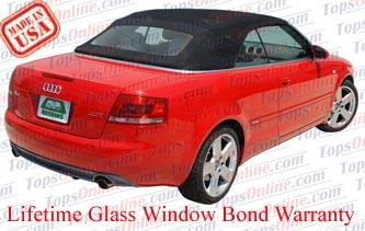 Convertible Tops & Accessories:2003 thru 2009 Audi A4, A4 Quattro & S4 Cabriolet