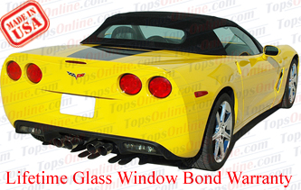 Convertible Tops & Accessories:2005 thru 2013 Chevy Corvette (C6)