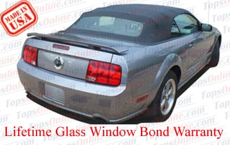 Convertible Tops & Accessories:2005 thru 2014 Ford Mustang, GT, Shelby GT, GT500 & Cobra