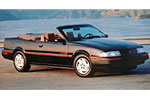 Convertible Tops & Accessories:1992 thru 1993 Chevy Cavalier, RS & Z24