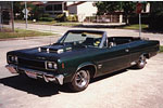 Convertible Tops & Accessories:1967 and 1968 AMC Rebel 550 & Rebel SST