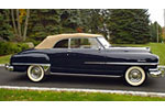 Convertible Tops & Accessories:1949 thru 1952 Chrysler New Yorker, New Yorker TC, Windsor & Windsor Deluxe