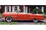 Convertible Tops & Accessories:1953 thru 1954 Chrysler New Yorker, New Yorker Deluxe & Windsor Deluxe