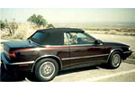 Convertible Tops & Accessories:1987 thru 1991 Chrysler Maserati TC