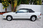 Convertible Tops & Accessories:1990 thru 1995 Chrysler Lebaron