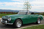 Convertible Tops & Accessories:1967 and 1968 Datsun Fairlady SPL311 1600 & SRL311 2000 (High Windshield)