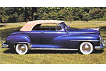 Convertible Tops & Accessories:1946 thru 1948 Desoto Custom 2 Door Convertible
