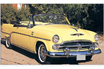Convertible Tops & Accessories:1953 thru 1954 Dodge Coronet & Royal