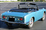 Convertible Tops & Accessories:1964 thru 1966 Honda S600
