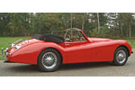 Convertible Tops & Accessories:1952 thru 1957 Jaguar XK120 & XK140 Roadster
