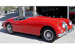 Convertible Tops & Accessories:1958 thru 1961 Jaguar XK150 Roadster