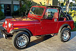 Convertible Tops & Accessories:1976 thru 1986 Jeep CJ7