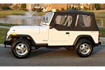 Convertible Tops & Accessories:1988 thru 1995 Jeep Wrangler