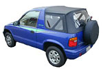 Convertible Tops & Accessories:1996 thru 2002 Kia Sportage