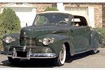 Convertible Tops & Accessories:1940 thru 1942 Lincoln Zephyr 2 Door Convertible Coupe 6 Passenger