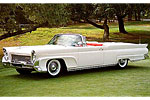 Convertible Tops & Accessories:1958 thru 1960 Lincoln Continental MK-III, MK-IV & MK-V 2 Door Convertible