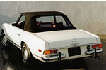 Convertible Tops & Accessories:1963 thru 1971 Mercedes Pagoda 230SL, 250SL & 280SL (Chassis W113)