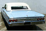 Convertible Tops & Accessories:1964 Mercury Monterey & Parklane