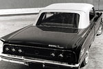 Convertible Tops & Accessories:1966 and 1967 Mercury Caliente, Comet & Cyclone
