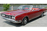 Convertible Tops & Accessories:1968 thru 1971 Mercury Comet, Cyclone & Montego