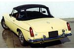 Convertible Tops & Accessories:1963 thru 1970 MGB MK I, MK II & MGC Roadster