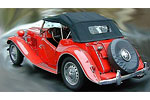 Convertible Tops & Accessories:1953 MGTD (3 Bow Top Frame)