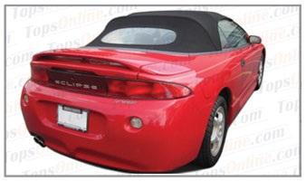 Convertible Top Installation Videos:1995 thru 1999 Mitsubishi Eclipse Spyder, GS & GST