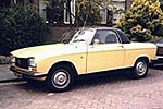 Convertible Tops & Accessories:1967 thru 1976 Peugeot 204 & 304
