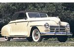 Convertible Tops & Accessories:1942 thru 1948 Plymouth Special Deluxe P-15C 2 Door Club Coupe & 2 Door Convertible Coupe