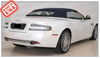 Convertible Tops & Accessories:2003 thru 2010 Aston Martin DB9 Volante
