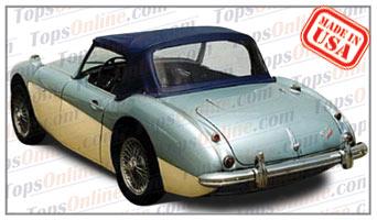 Convertible Tops & Accessories:1957 thru 1962 Austin Healey Roadster 100-6 BN6 & 3000 BN7 Mark 1 & 2