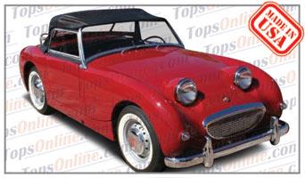 Convertible Tops & Accessories:1958 thru 1960 Austin Healey Sprite MK I, Bug Eye