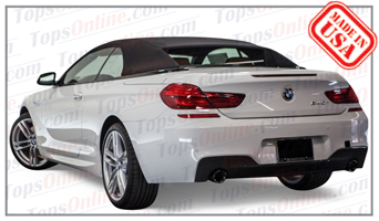 Convertible Tops & Accessories:2011 thru 2017 BMW 640i, 650i & M6 (F12)
