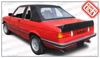Convertible Tops & Accessories:1977 thru 1991 BMW Baur & TC Baur 318i, 320i, 323i