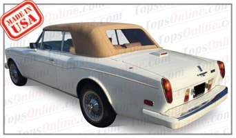 Convertible Tops & Accessories:1987 thru 1992 Bentley Corniche & Continental