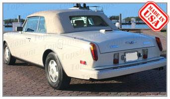 Convertible Tops & Accessories:1994 Bentley Continental