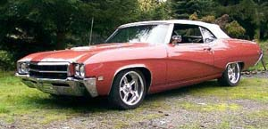 Rubber Weather Seals:1969 thru 1972 Buick GS & Skylark Convertible