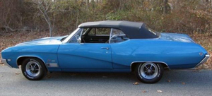 Rubber Weather Seals:1968 Buick GS & Skylark Convertible