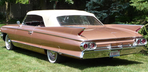 Rubber Weatherstrips:1961 and 1962 Cadillac Eldorado, Biarritz & Series 62 Convertible