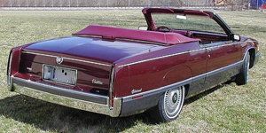 Convertible Tops & Accessories:1986 thru 1989 Cadillac Fleetwood (Car Craft or H & E Conversion)