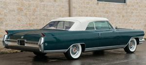 Rubber Weather Seals:1963 thru 1964 Cadillac Eldorado, Deville & Series 62 Convertible