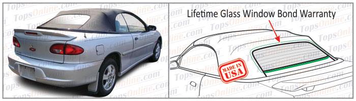 Convertible Tops & Accessories:1998 thru 2000 Chevy Cavalier & Cavalier Z24