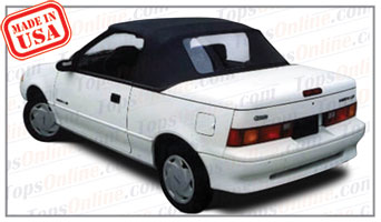 1990 Thru 1993 Chevy Metro And Sprint Convertible Tops