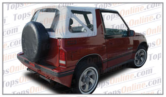 Convertible Tops & Accessories:1988 thru 1994 Chevy Tracker