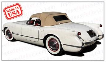 Convertible Tops & Accessories:1953 thru 1955 Chevy Corvette