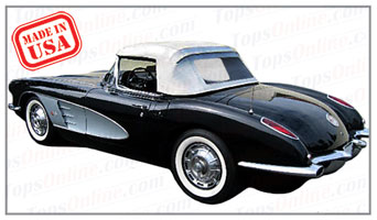 Convertible Tops & Accessories:1959 and 1960 Chevy Corvette